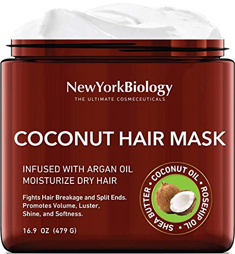 Coconut Hair Mask for Hair Growth and Volume -...