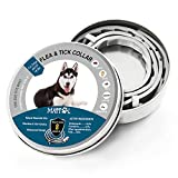 Mattol Dog Collar (2020 New Formula) Prevention Collar for Small, Medium & Large Dogs, Safe & Allergy Free, Waterproof, Adjustable, Best Fast-Acting, 8-Month Protection, One Size Fits All