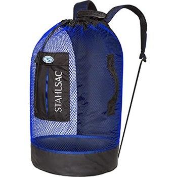 Panama Mesh Backpack Blue