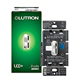 Lutron Ariadni/Toggler LED+ Dimmer   150-Watt, Single-Pole/3-Way   AYCL-153P-WH   White