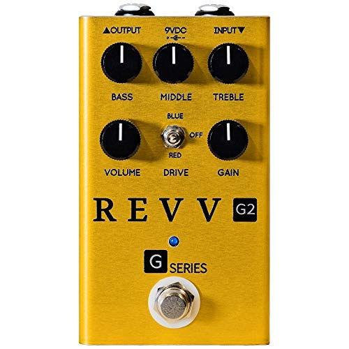 Revv Limited Edition G2 Gold Overdrive/Distortion