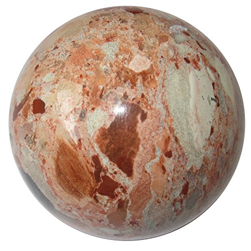 Satin Crystals Picture Jasper Sphere Crystal Healing Ball...