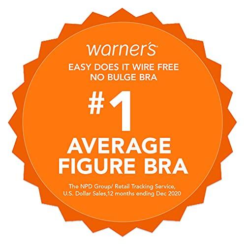 Warner's Women's Easy Does It No Bulge Wire-Free Bra