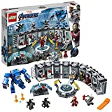 LEGO-Marvel Super Heroes La salle des armures d'Iron Man Jeu de construction, 7...