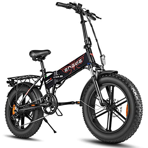ENGWE 500W 20 inch Fat Tire Electric...