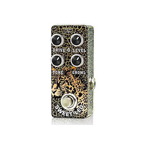 Xvive O2 Sweet Leo Analog OverDrive Guitar Effect Pedal True Bypass