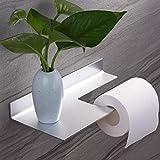 Porte Papier Toilette Auto - Adhésif Porte Rouleau de Papier WC Mural pour Salle de...