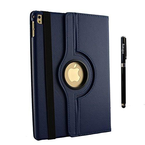 inshang Custodia Cover Compatibile con iPad 2018 2017 Air Air 2 Cover Case - La Rotazione a 360 Gradi, Supporto, Sonno/Sveglia pennio