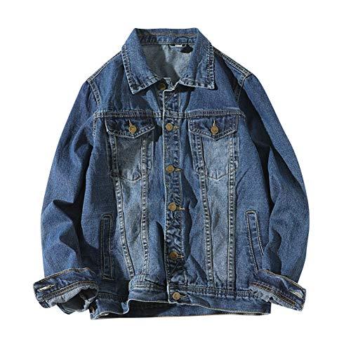 [Mirroryou(ミラーユー)] デニムジャケット メンズ Gジャン ジージャン 秋服 おしゃれ カジュアル 大きいサイズ アウター ファッション