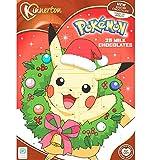 Calendrier de l'avent Pokemon - Chocolat au lait (2018) 90g