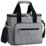 DYD Collapsible Cooler Bag, Insulated 24/48 Can Soft Sided Beach Cooler Lightweight Portable Car...