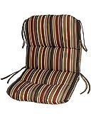 Comfort Classics Inc. Sunbrella Outdoor Chair Cushion in Brannon Redwood
