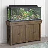 Flipper Wildwood 55 Gallon, Rustic Gray Aquarium Stand