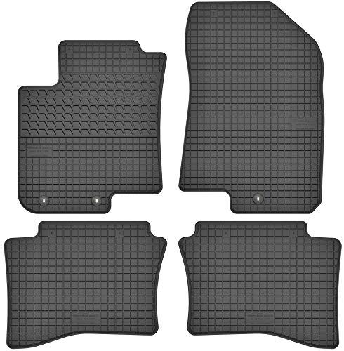 Motohobby Gummimatten Gummi Fußmatten Satz für Hyundai i20 II (ab 2014) -...