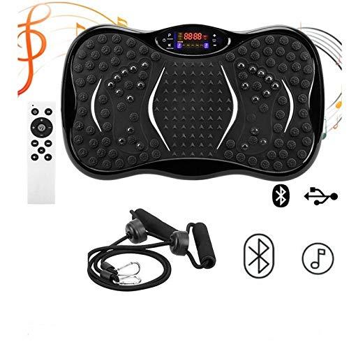 MorNon Vibration Plate Crazy Fit Body Shaker Massage Fitness Exercise Machine Oscillating Power Vibrating Home Power Plate Fitness Trainer Full Body Trainer