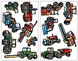Stickers murali per la cameretta Trattori