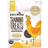 Full Moon USDA Organic Chicken Training Treats Healthy All Natural Dog Treats Human Grade 175 Treats