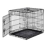 AmazonBasics Cage pliante en métal avec 1porte pour chien - 61...