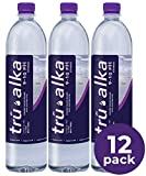 Tru Alka Water | Alkaline Water pH 9 - 10 (12 pack 1 Liter) | Perfect Hydration