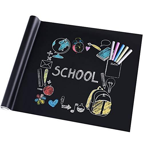 Rabbitgoo Lavagna Adesiva,Memo da Parete,Stickers Nota Appunto Rimovibile Per Scuola/Ufficio/Casa...