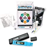 Test Assured Drinking Water Test Kit with Digital TDS Meter - Easy at-Home EPA Water Test Kit for 10 Water Contaminants and Total Dissolved Solids