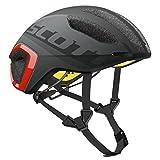 Scott Cadence Plus Helmet Dark Grey/Red, M