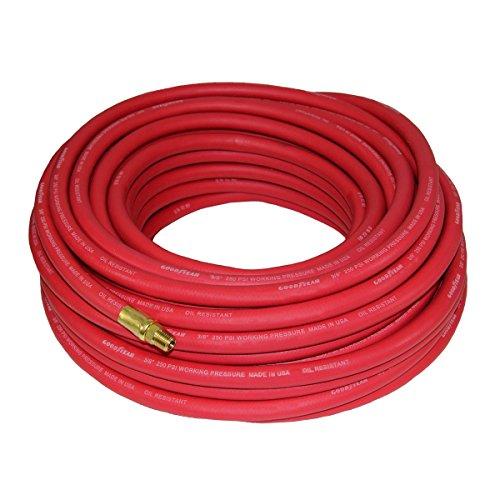 Good Year 12674 Rubber Air Hose Red, 50-Feet x 3/8-Inch
