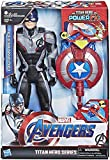 Marvel Avengers – Figurine Marvel Avengers Endgame Titan Power FX – Captain...