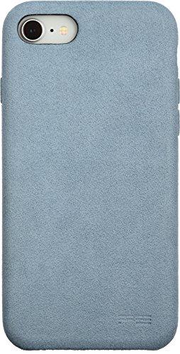 パワーサポート iPhone8/7用 ウルトラスエード エアージャケット(スカイ)Ultrasuede Air jacket for iPho...