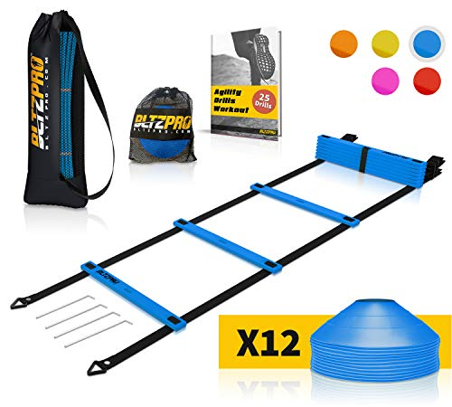 518N9QuelRL - The 7 Best Agility Ladders That Help You Pick Up The Pace