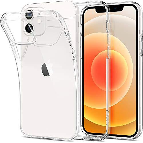 מגן שקוף כדי שייראו את האייפון: Spigen Liquid Crystal iPhone 12   12 Pro