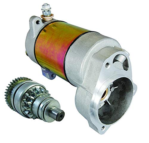 New Starter Kit with Drive Replacement For Select Polaris ATV 85-06 250 300 350 400 Heavy Duty 12V CW 9-Spline Shaft PA101 3083646 3083760 3084403 3085393 SM-8 SM13298
