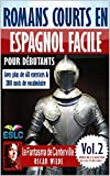 """Romans courts en espagnol facile pour débutants: """"Le Fantôme de Canterville"""" de..."""