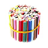 100pcs Nail Art Sticks 3D Designs Nail Art Manucure Nailart Fimo Canes Sticks...