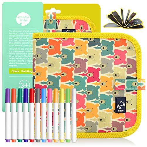 POOPHUNS Portatile da Disegno per Bambini, Doodle Disegno Giocattoli per Bambini, Libro di Pittura...