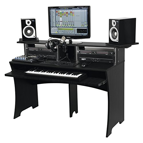 Workbench black REC/DJ-Workstation