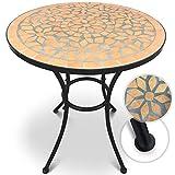 Jago Mosaiktisch rund oder eckig Stahl Mosaik - 2