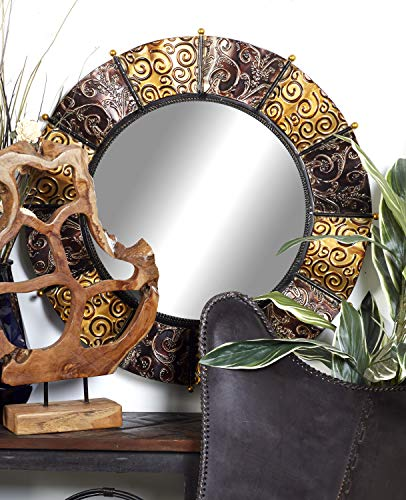 Deco 79 Heavily Discounted Metal Mirror