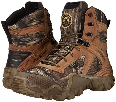 "Irish Setter Men's 2874 Vaprtrek 8"" Hunting Boot,Mossy Oak Break Up Infinity Camouflage,14 D US"