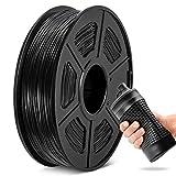 TPU Filament 1.75mm, JAYO Flexible 3D Printer Filament TPU Shore 95A, 0.5 KG Spool TPU Black,Dimensional Accuracy +/- 0.02 mm
