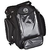 Trek N Ride 201725 Magnetic Polyester Tank Cum Tail Bag (Black)