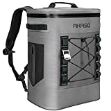 AKASO 20L Cooler Backpack Insulated Waterproof, Keeps Cool&Warm 72 Hours with 5 Layers Insulation Leakproof System, Soft Cooler Bag for Camping, Fishing, Road Tripping, Hiking, Picnicking, Beach (B1)…