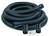 "Little Giant SPDK Sump Pump Discharge Hose Kit, 1-1/4"" Hose – 1-1/2"" & 1-1/4"" Adaptors, 24-Feet"