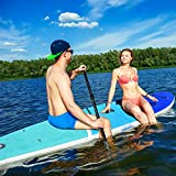 Zupapa 2019 Upgrade Inflatable Stand Up Paddle Board 6' Thick 11 FT Kayak Convertible All Accessories Included