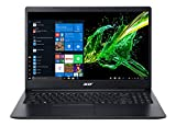 Acer Aspire 3 Thin A315-22 15.6-inch Laptop (A4-9120e/4GB/1TB HDD/Windows 10/AMD Radeon R4 Graphics), Charcoal Black