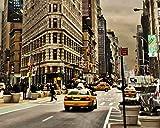 DIY Pintura Al óLeo por NúMeros Kits Tema Pintura Al óLeo Digital Kits De Lona CumpleañOs Boda O DecoracióN NavideñA Decoraciones Trafico De La Calle Manhattan USA