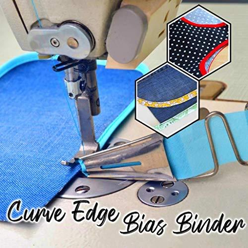 XSHH Curve Edge Bias Binder,Strumento per Rilegatura a Nastro per Accessori per Rilegatura a...