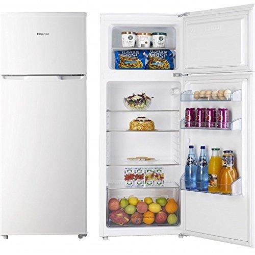 Hisense RT280D4AW1 Libera installazione 215L A+ Bianco frigorifero con congelatore, Senza installazione