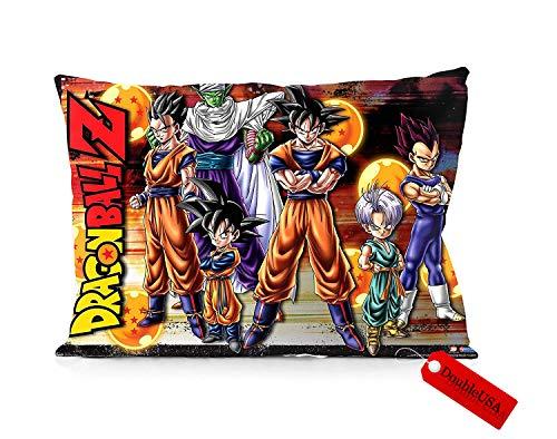 DoubleUSA Dragon Ball Z Pillowcases Both Sides Print Zipper Pillow Covers 20'x30'