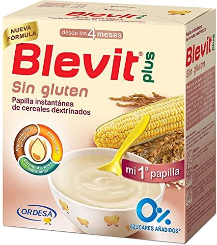 Blevit Plus Sin Gluten - Papilla de Cereales para Bebé con